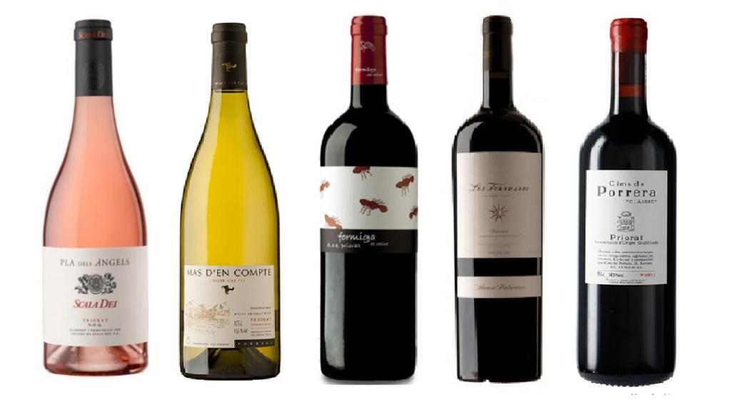 5 vinos del Priorat