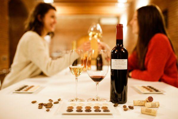 maridaje vinos y chocolate penedes