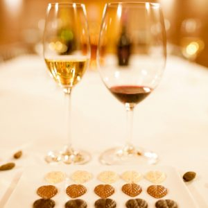 wine and chocolate penedes