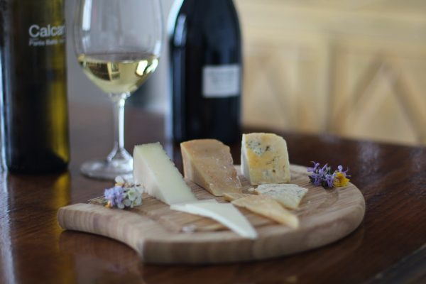 queso con vino