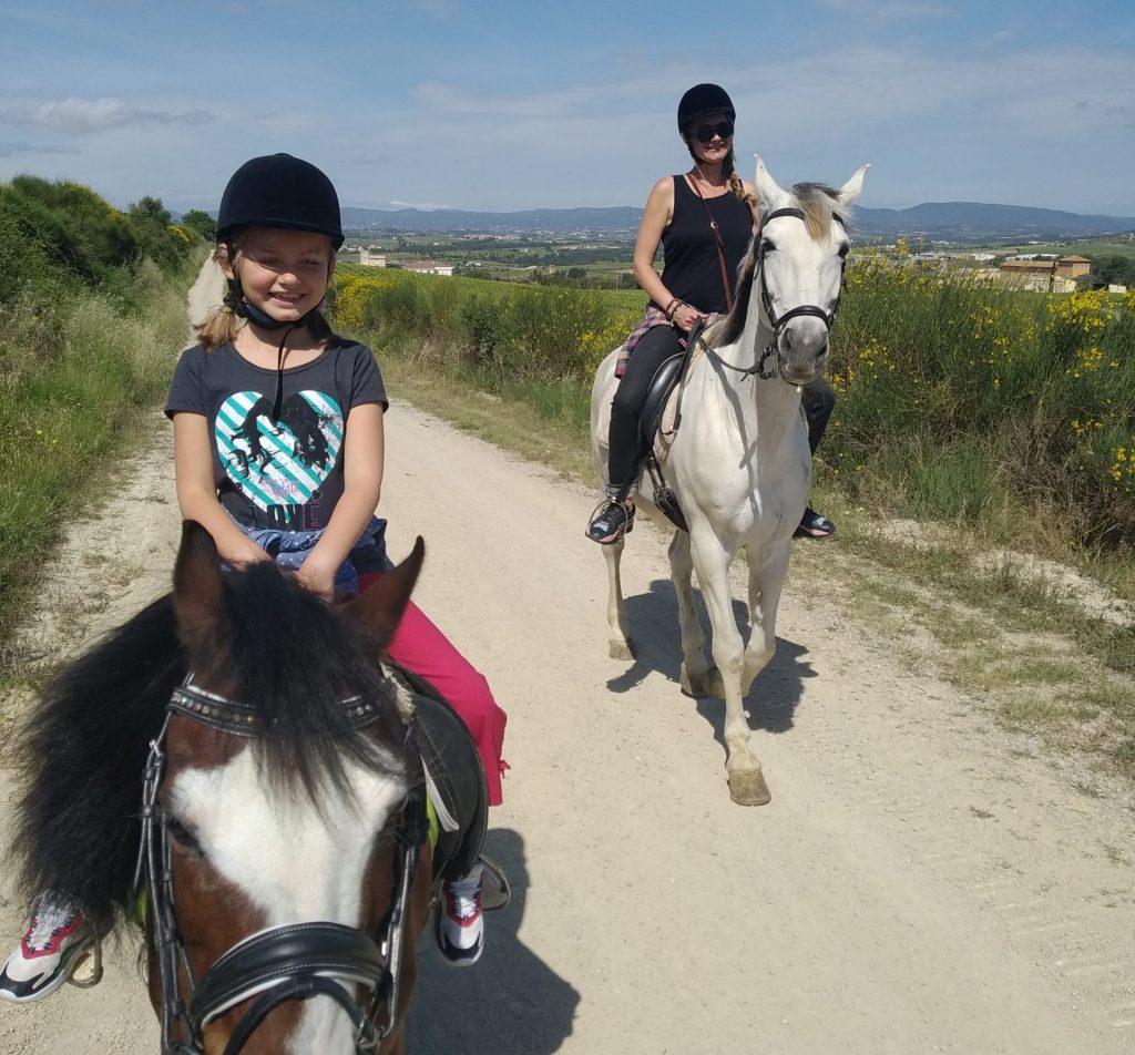 paseo a caballo en el penedés