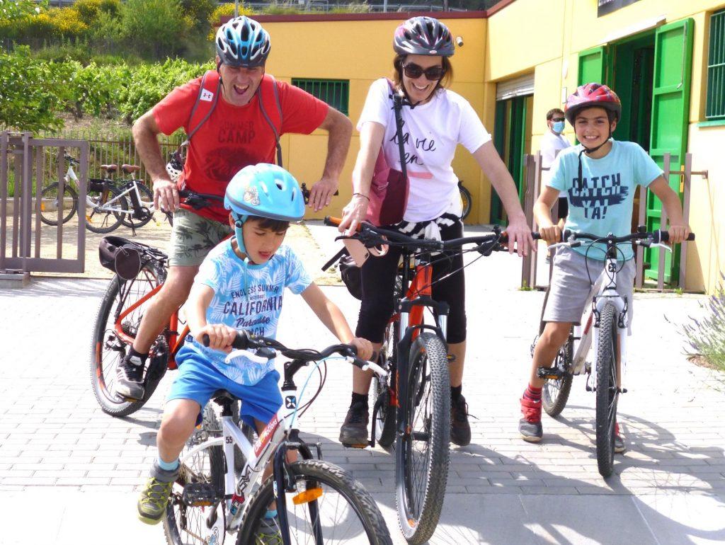 bike tour in the Penedés