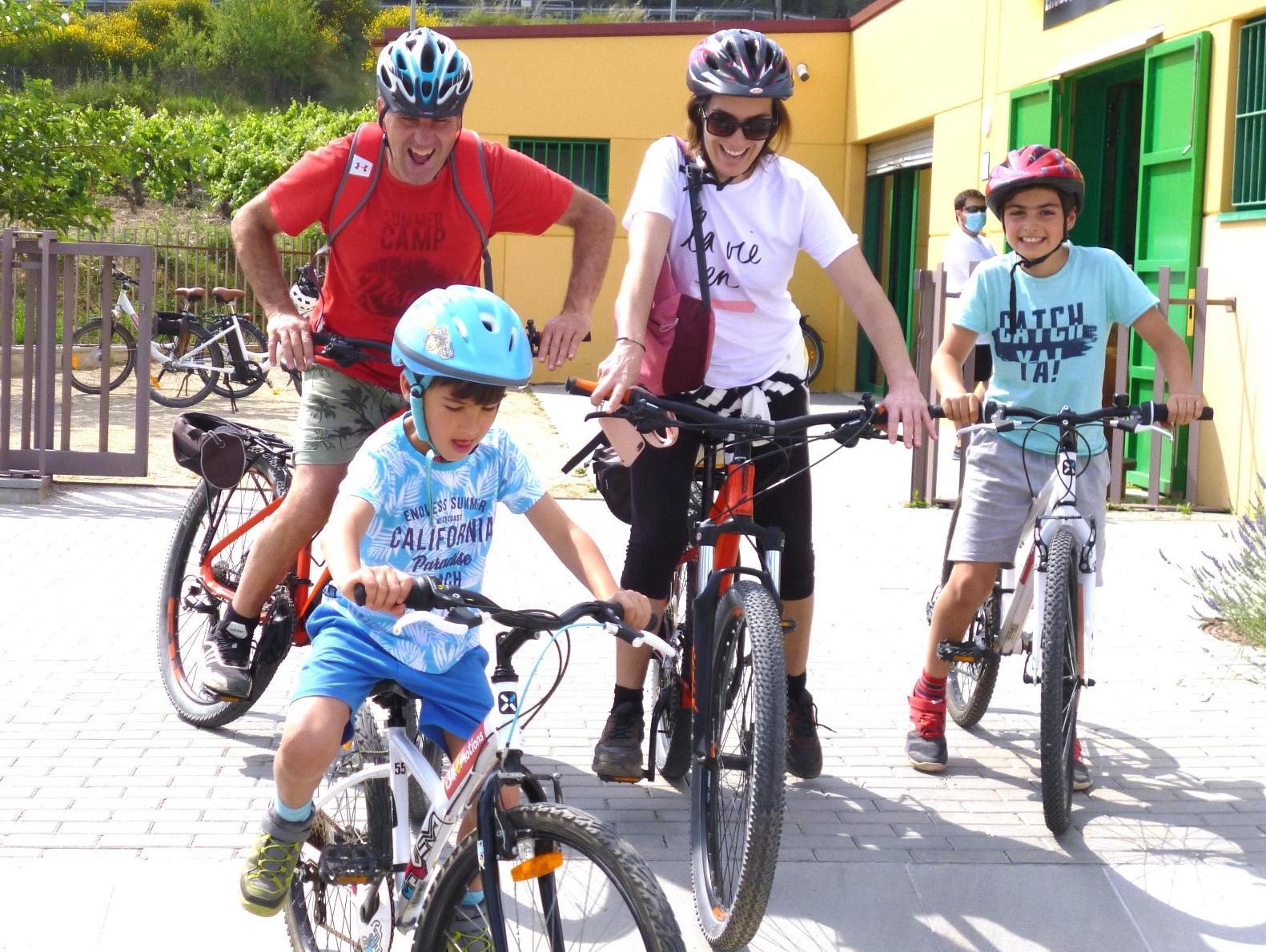 tour en bicicleta en el Penedés