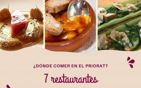 los mejores restaurantes del priorat donde comer