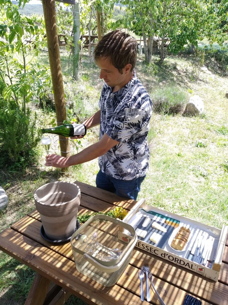 Maridaje en la bodega familiar Cava guilera
